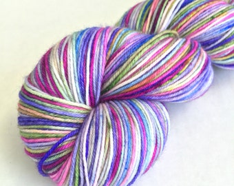 Indelible Sock Yarn in Summer Vacation - New Summer Colorway - In Stock