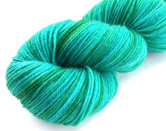 Indelible Sock Yarn in Del Mar - New Spring Colorway - In Stock