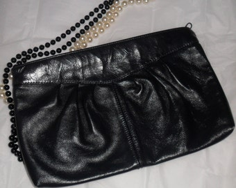 Vintage Purse Clutch Forecast Handbags Navy Blue