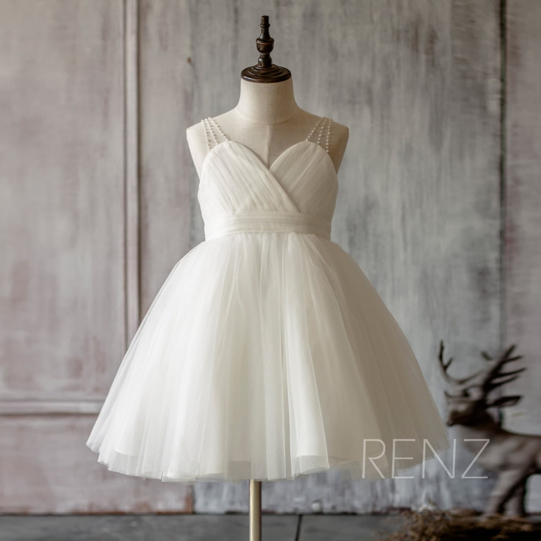 2017 junior bridesmaid dress off white flower girl dress zoom ombrellifo Choice Image