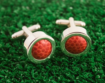 Game Used Football Cufflinks - Pick your team!