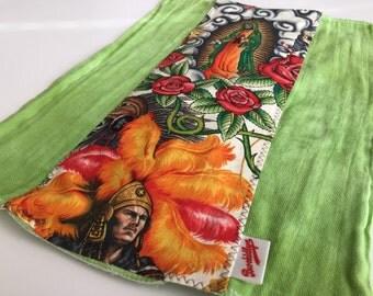 Contigo, Green, Burp Cloth