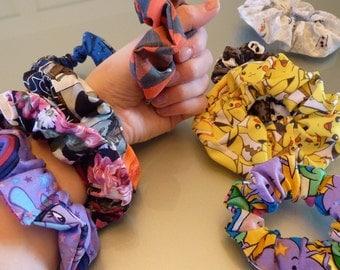 Scrunchies Geek Nerds Chou Hair accessoiries