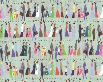 Novelty People Fabric - Saturday Morning by Basicgrey from Moda - 1/2 Yard
