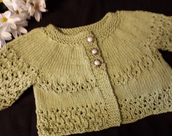 Heirloom Vintage Sage Sweater