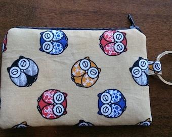 Keychain Coin Pouch - Asian Owl