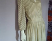 Medici Italy Vintage Wool Dress