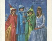 UNCUT Simplicity 8328 Disney Aurora Flora Fauna and Merryweather Costume Pattern Misses Size Small