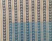 Flower stripe fabric