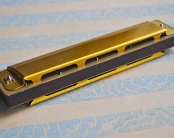 Vintage Soviet Russian harmonica.