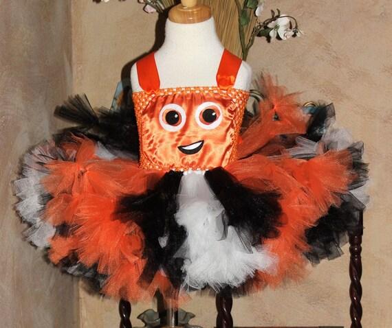 Finding Dory NEMO Tutu Halloween Costume Birthday Party