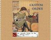 Custom Listing for TaraL . Kitchen Valance . Cafe Curtains  . Pom Pom Play Confetti by Waverly . Handmade by Pretty Little Valances
