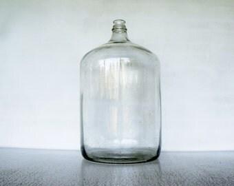 Large 6-1/2 Gallon Glass Water Jug 1971 MCA Std ICC Vintage