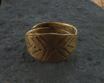 Fantastic Ancient Viking Ring for the Norse Warrior  C.866-1067A.D. Size 11  (20.5mm)(Brr1101)