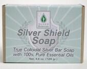 Silver Shield Soap - True Colloidal Silver Bar Soap