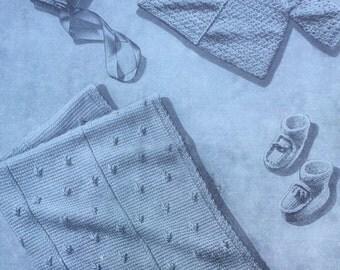 Crochet Pattern, Crochet Baby Blanket Pattern, Crochet Baby Sweater, Crochet Booties Pattern, Instant Download Pattern