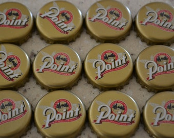 12 Point Brewery Beer Bottle Caps Stevens Point Wisconsin Craft -no dents