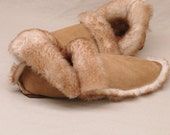 Sheepskin Slippers - Stony Shearling