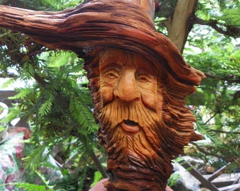 Jasper,   the pine knot wood spirit
