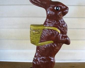 Small Chocolate Rabbit