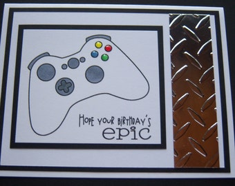 Video Game Lover Birthday Card