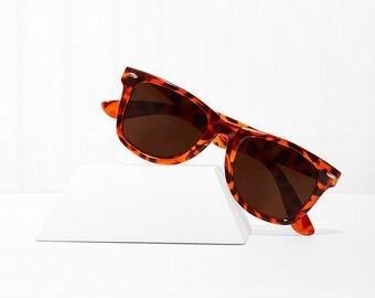 Rex Giraffe Wayfarer Sunglasses X American Deadstock Eyewear