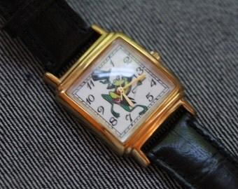 Vintage Warner Brothers watch Frog quartz watch