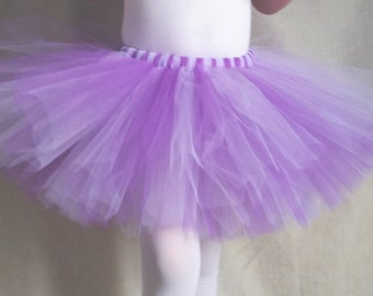Purple and Lavender Tutu, Princess Sofia Birthday Party, Baby Shower Gift, Birthday Outfit, Purple Tutu, Toddler Baby Girls Tulle Skirt