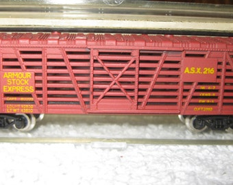 N-Scale Train Cattle Car S790D New ON SALE