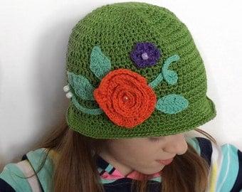 Lime Spring Hat