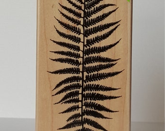 Silhouette Fern Wooden Stamp by: Hero Arts