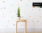 Confetti Triangles | Removable Wall Decal & Sticker for Home, Office, Nursery | LSB0220VCC