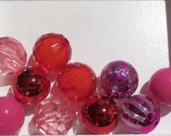 10CT. 20mm Beads, Variety pack, K21