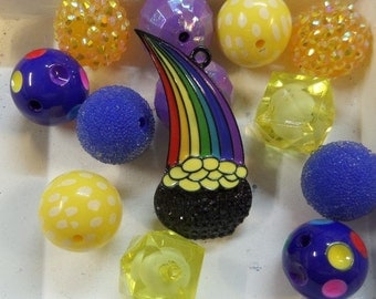 20CT. Rainbow Bead Collection, (N35)