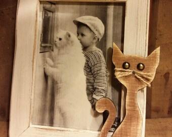 """Picture frame """"Cute Cat"""""""