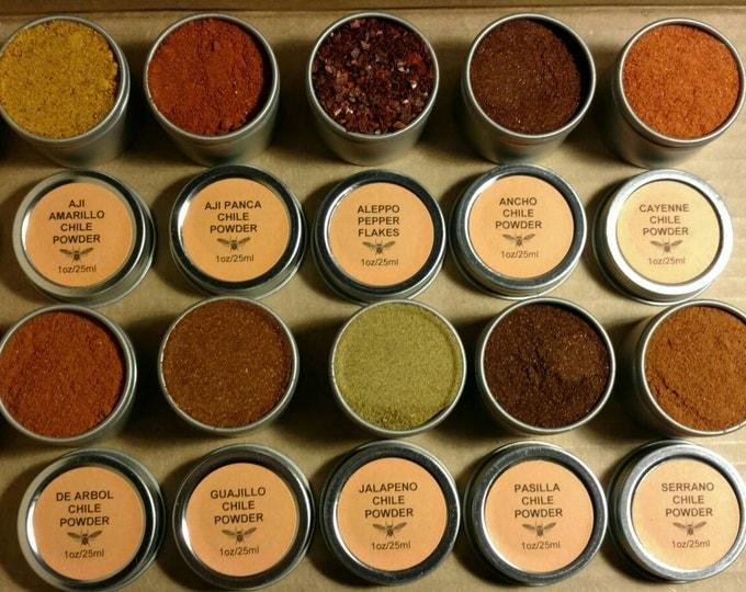 Pure Chile Pepper Powder Set
