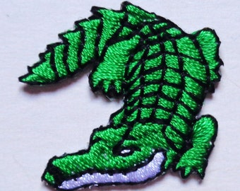 alligator iron on applique