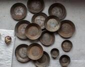 Vintage Baking Molds // French Stamped Tins Set of 15