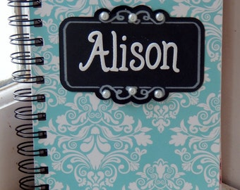 Personalized 5 x 7 Lined Journal