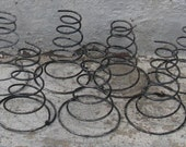 steel bed springs set of 10 craft project rustic country rustic wedding