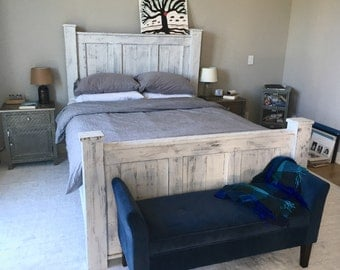 Marvelous Cabin Bedroom Furniture Bed Frame Furniture Reclaimed Wood Largest Home Design Picture Inspirations Pitcheantrous