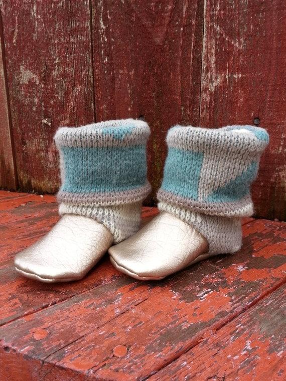 "AK DESIGNS ""Elegant Baby Shoes"" - Little Melissa."