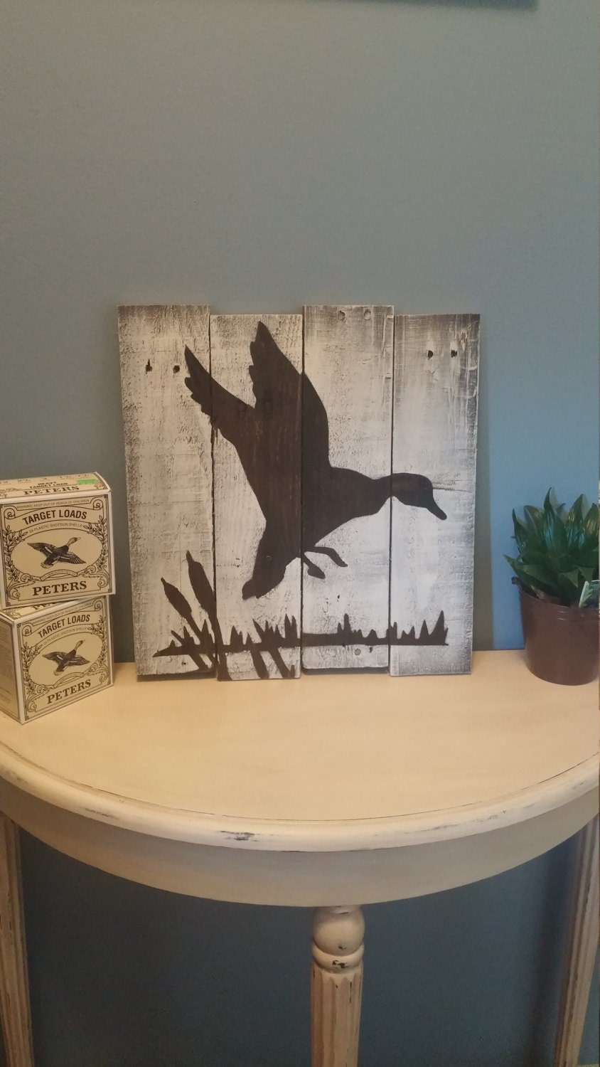 duck pallet wood sign home decor house warming gift gift