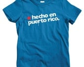 Kids Hecho En Puerto Rico T-shirt - Baby, Toddler, and Youth Sizes - Made in PR Tee, San Juan, Native, Spanish - 4 Colors