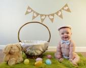 Easter Bunny Banner, Easter Decor, Easter Bunnies, Easter Banner