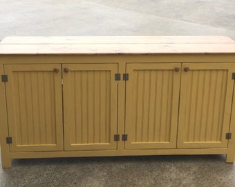 Large Sideboard, Buffet, Painted Sideboard, Storage Cabinet, Pantry Ideas