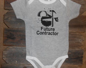 Future Contractor Baby Bodysuit
