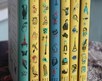 Vintage Hardcover Books Best In Children's Books Lot of 7 Nelson Doubleday Inc. Fair Condition Assorted Stories
