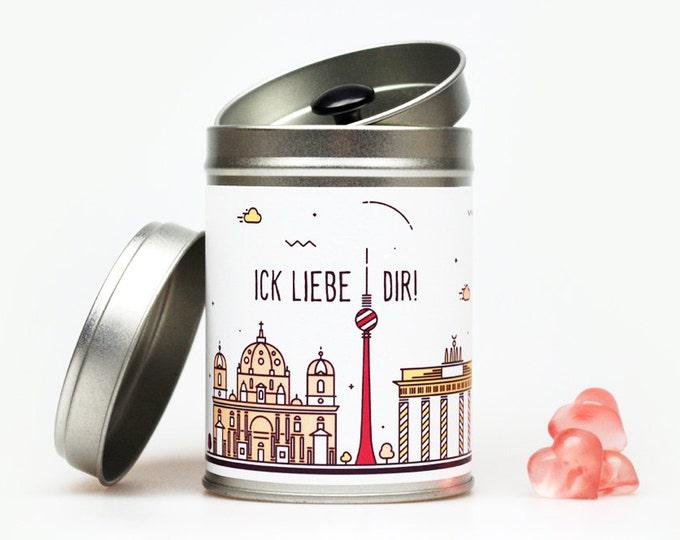 BERLIN SKYLINE Geschenkdose individualisierbar