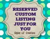 Custom Listing Just for LISA